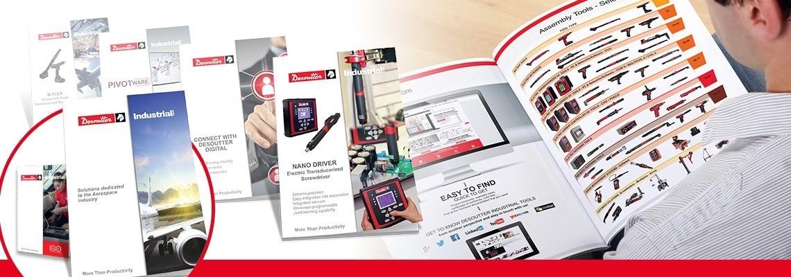 Desoutter Industrial Tools Catálogos e Folhetos