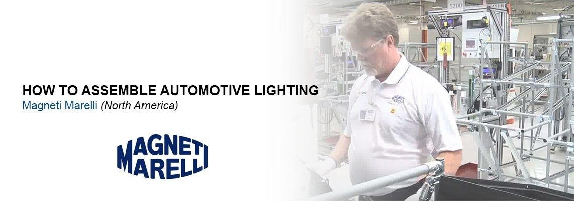 Como a Magneti Marelli fabrica iluminação automotiva?