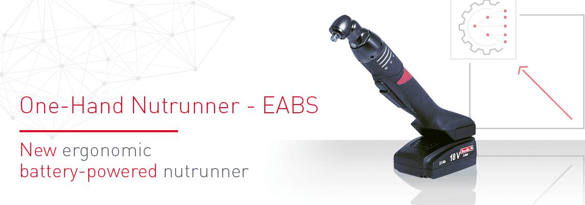 Nova parafusadeira ergonômica a bateria: o EABS
