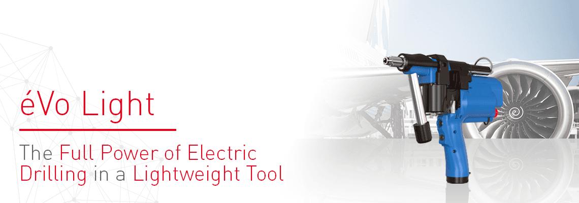 Nova ferramenta elétrica semi-automática para aplicações de perfuração: o éVo Light