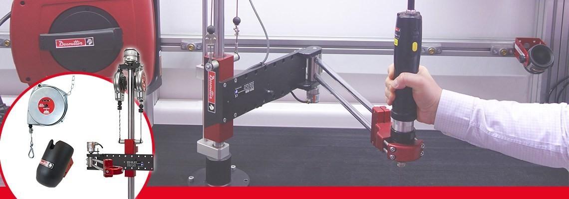 A Desoutter Industrial Tools fornece produtos de alta qualidade e desempenho e também acessórios. Para completar e otimizar nossas ferramentas, entre em contato conosco.