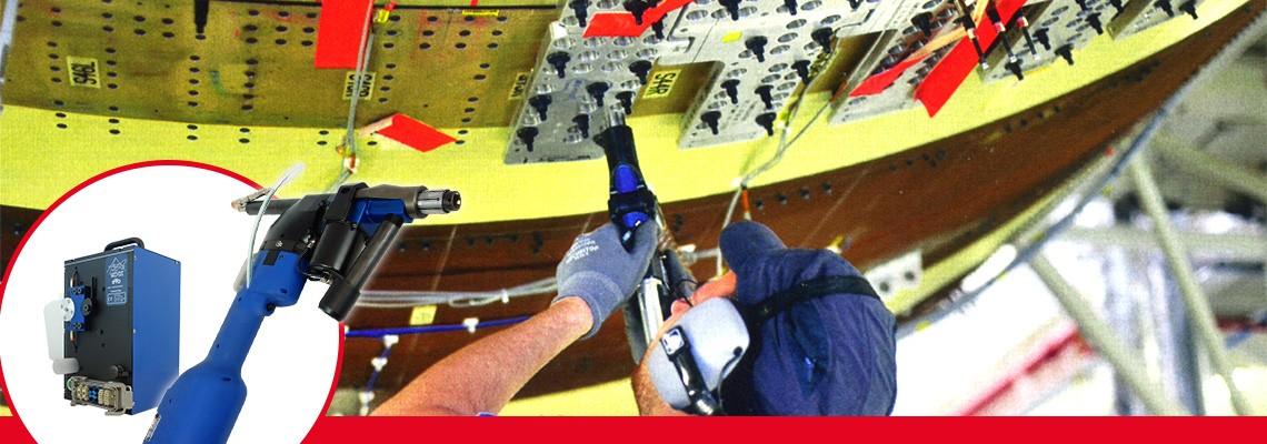 As unidades de perfuração elétricas avançadas da Divisão Seti-Tec são dedicadas a operações de perfuração semi-automática para equipamentos de montagem aeronáutica..