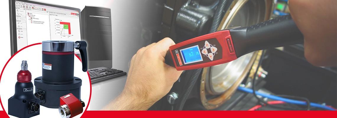 A Desoutter Industrial Tools criou uma linha completa de transdutores de torque rotativos para medir o torque  de qualquer ferramenta de montagem sem impactos.