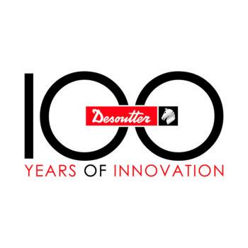 Logo do 100o. Aniversário da Desoutter