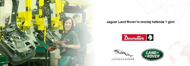 Curta um dia na linha de montagem da Jaguar Land Rover!